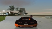 Bugatti Veyron Super Sport 2011 for GTA Vice City miniature 3