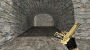 Deagle Gold Scorpion for Counter Strike 1.6 miniature 3