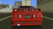 BMW M3 (E30) 1987 for GTA Vice City miniature 4