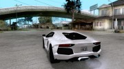 Покрасочные работы для Lamborghini Aventador LP700-4 2011 for GTA San Andreas miniature 3