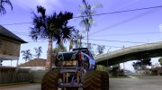 Monster Truck Blue Thunder for GTA San Andreas miniature 4