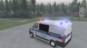 Fiat Ducato «ДПС» for Spintires 2014 miniature 10