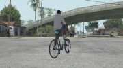 Leader Kagero Fixed Gear Bike для GTA San Andreas миниатюра 3