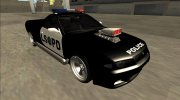 Nissan Skyline R32 Pickup Police LSPD for GTA San Andreas miniature 2