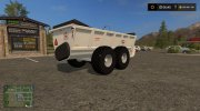 Knight SLC 141 manure spreader v1.0 for Farming Simulator 2017 miniature 3