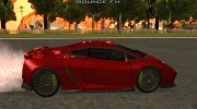 Lamborghini Gallardo Extreme Tuned for GTA San Andreas miniature 5
