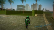 Kawasaki Racer for GTA Vice City miniature 4