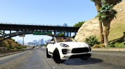 2015 Porsche Macan Turbo for GTA 5 miniature 4