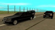 Mercedes-Benz W140 S-класс for GTA San Andreas miniature 3