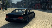 Mercedes S600 W140 for Mafia II miniature 5