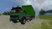 Mercedes-Benz NG 1632 и прицепы к нему for Farming Simulator 2013 miniature 1