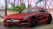 Mercedes-Benz SLS AMG Black Series 2013 для GTA San Andreas миниатюра 10