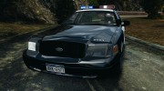 Ford Crown Victoria Police Interceptor 2003 Liberty City Police Department [ELS] для GTA 4 миниатюра 7