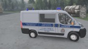 Fiat Ducato «ДПС» for Spintires 2014 miniature 6