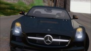 Mercedes-Benz SLS AMG Black Series 2013 для GTA San Andreas миниатюра 22