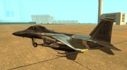 F-15 Eagle for GTA San Andreas miniature 2