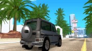Mercedes-Benz G500 1999 Short [with kangoo v1] for GTA San Andreas miniature 4