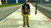 Monster energy suit pack для GTA San Andreas миниатюра 1