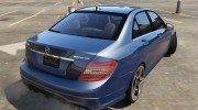 2014 Mercedes-Benz C63 AMG W204 1.0 for GTA 5 miniature 15