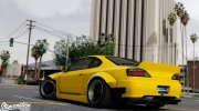 Nissan Silvia S15 Rocket Bunny 2JZ for GTA 5 miniature 2