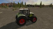 Мод Claas Axion 800 (810, 830, 850) версия 3.0 for Farming Simulator 2017 miniature 5