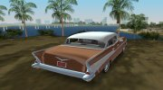Chevrolet Bel Air 1957 Sedan for GTA Vice City miniature 7