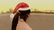 Lara Xmas nude from Tomb Raider 2013 для GTA San Andreas миниатюра 6