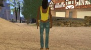 Country Girl Brunette T-Shirt для GTA San Andreas миниатюра 3