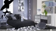 Caletta adult bedroom for Sims 4 miniature 1