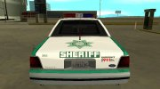 Ford LTD Crown Victoria 1991 San Diego County Sheriff for GTA San Andreas miniature 8