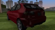 Daewoo Lanos Sport US 2001 for GTA Vice City miniature 4