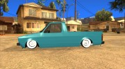 Volkswagen Сaddy 1980 for GTA San Andreas miniature 5