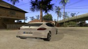 Porshe Panamera for GTA San Andreas miniature 4