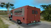 Chevrolet Step Van 30 1985 for GTA Vice City miniature 6