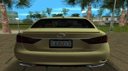 2013 Lexus GS 350 F Sport for GTA Vice City miniature 8