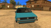 Volkswagen Сaddy 1980 for GTA San Andreas miniature 3