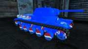 Шкурка для КВ-13 PEPSI для World Of Tanks миниатюра 5