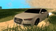 Audi A3 S-Line for GTA San Andreas miniature 1