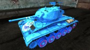 Аниме шкурка для M24 Chaffee для World Of Tanks миниатюра 1