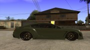 Bentley Continental GT Premier4509 2008 Final для GTA San Andreas миниатюра 5