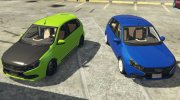 Lada Granta for GTA 5 miniature 3
