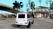 Mercedes-Benz G55 AMG (W463) 2008 for GTA San Andreas miniature 4