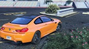 2013 BMW M6 Coupe for GTA 5 miniature 3