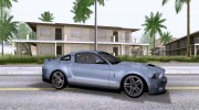 Ford Mustang Shelby GT500 для GTA San Andreas миниатюра 4