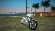 Harley-Davidson Wizard for GTA Vice City miniature 2