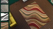Modern City Rugs Set for Sims 4 miniature 3