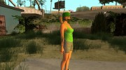 Female GTA Online Grove Style for GTA San Andreas miniature 7