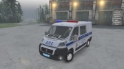 Fiat Ducato «ДПС» for Spintires 2014 miniature 1