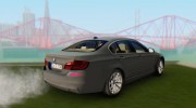 BMW 520d F10 2012 for GTA San Andreas miniature 2