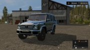 Mercedes-Benz G65 AMG for Farming Simulator 2017 miniature 2